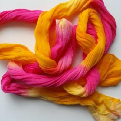 N001001 collant triple couleur  pour la création de fleurs, papillons, raquettes dragées