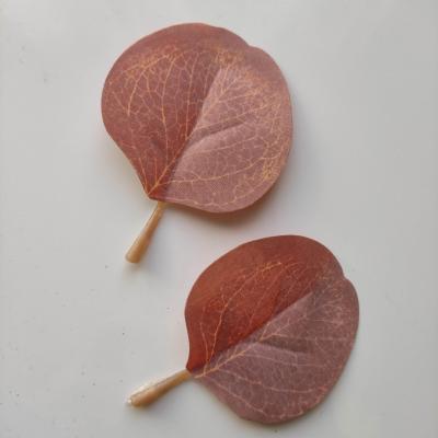 lot de 2 feuilles artificielles 80*55MM peche