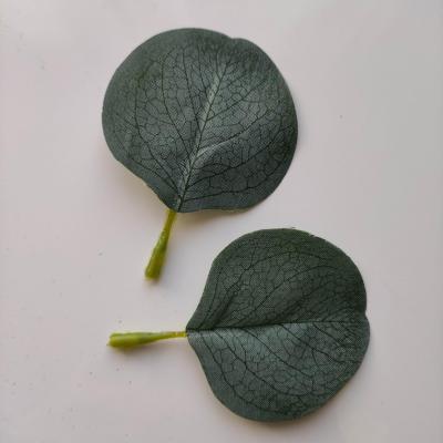lot de 2 feuilles artificielles 80*55MM vert