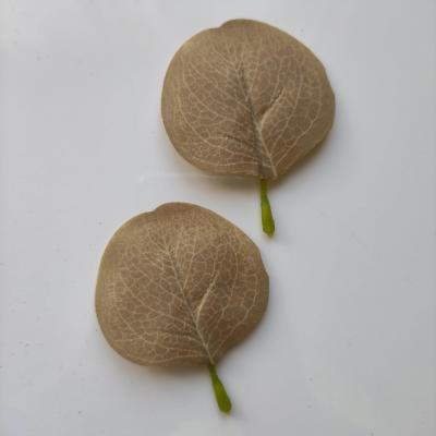 lot de 2 feuilles artificielles 80*55MM vert clair