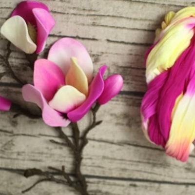 N0020 collant triple couleur  pour la création de fleurs, papillons, raquettes dragées