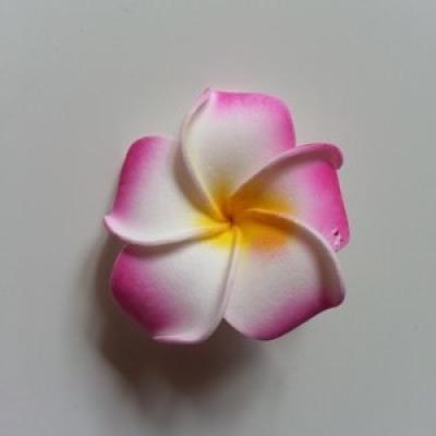 Fleur en mousse rose 45mm