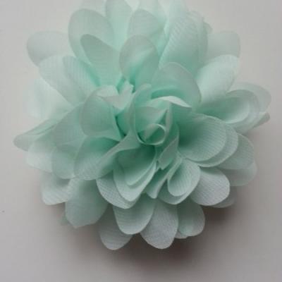 fleur mousseline vert d'eau 10cm