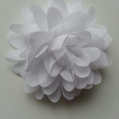 fleur mousseline blanc 10cm