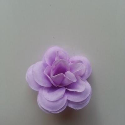 Fleur  artificielle en tissu  40mm mauve