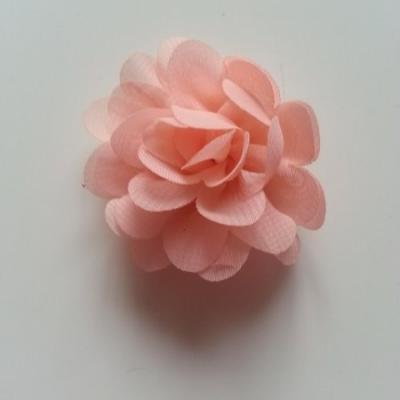 fleur mousseline   50mm pêche