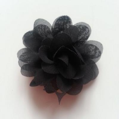 fleur mousseline   50mm noir