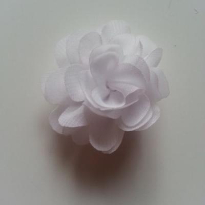 fleur mousseline   50mm blanc