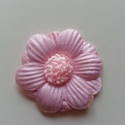 Applique fleur  45mm rose