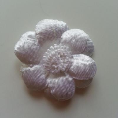 Applique fleur  45mm blanc