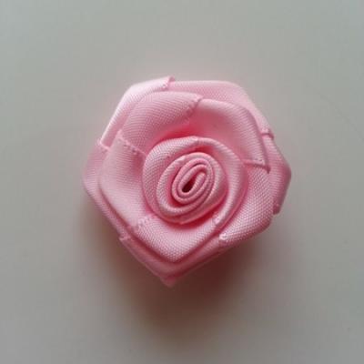 Fleur satin  40mm rose