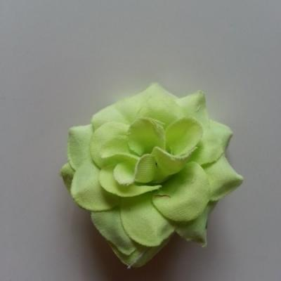 Fleur  en tissu  50mm vert pastel