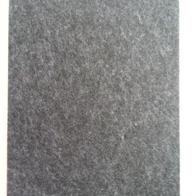 feuille de feutrine autocollante 21*29.7cm noir chiné