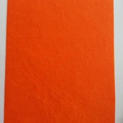 feuille de feutrine autocollante 21*29.7cm orange