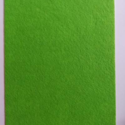 feuille de feutrine autocollante 21*29.7cm verte
