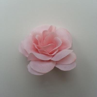 Fleur  artificielle en tissu  40mm pêche