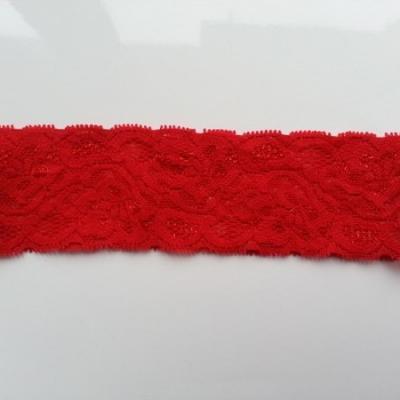 Bandeau dentelle 48mm rouge