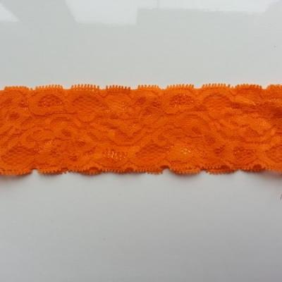 Bandeau dentelle 48mm orange