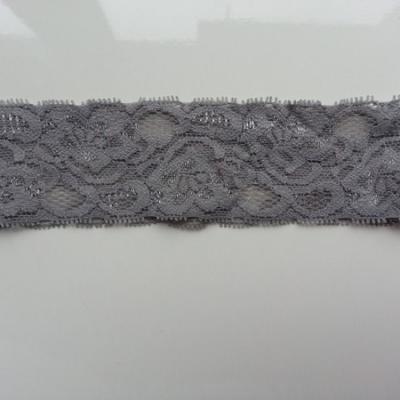 Bandeau dentelle 48mm gris