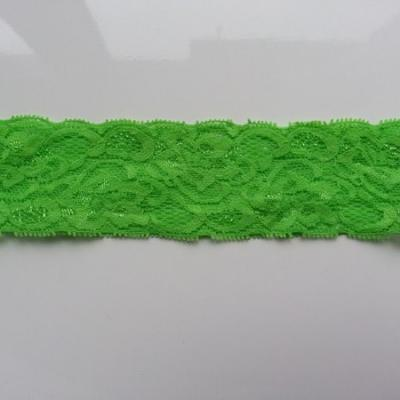 Bandeau dentelle 48mm vert