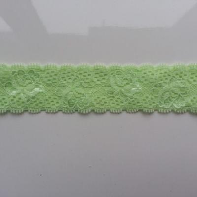Bandeau dentelle 35mm vert pastel
