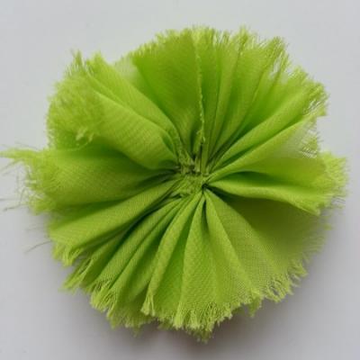 applique en tissu mousseline 80mm vert