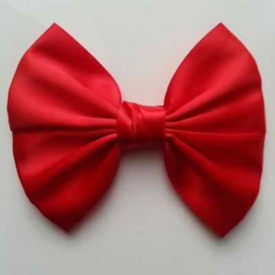 noeud en satin rouge 11*8cm