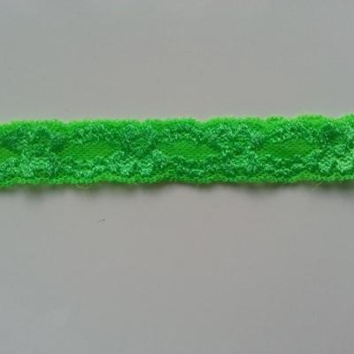 Bandeau dentelle 25mm vert