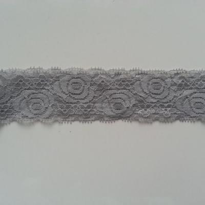 Bandeau dentelle gris  40mm
