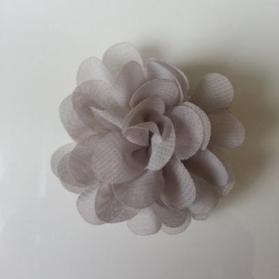 fleur mousseline   50mm gris