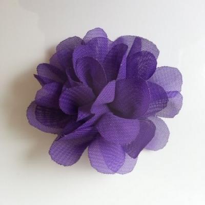 fleur mousseline   50mm violet