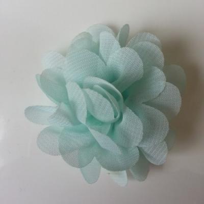 fleur mousseline   50mm vert pastel