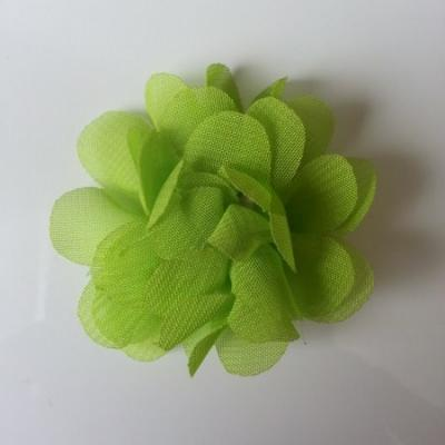 fleur mousseline   50mm vert