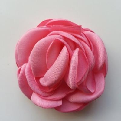 fleur satin de soie 50mm rose