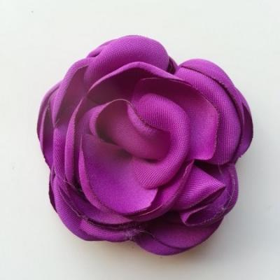 fleur satin de soie 50mm violet