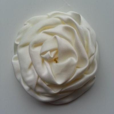 fleur satin chiffon 80mm ivoire