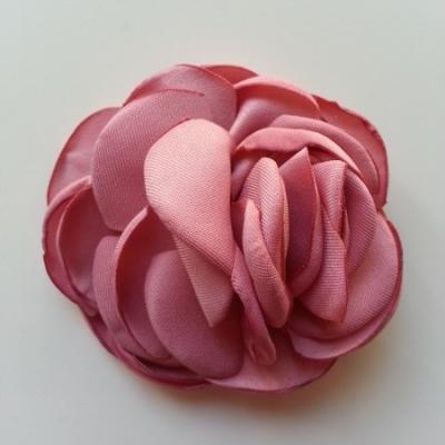 fleur satin de soie 50mm vieux rose