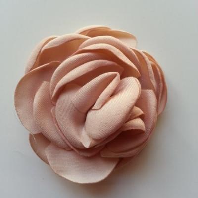 fleur satin de soie 50mm beige