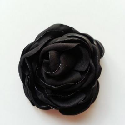 fleur satin de soie 50mm noir