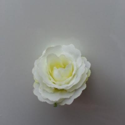 fleur en tissu 35mm ivoire