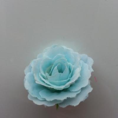 fleur en tissu 35mm bleu ciel