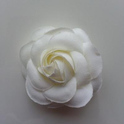 fleur en tissu ivoire 50mm