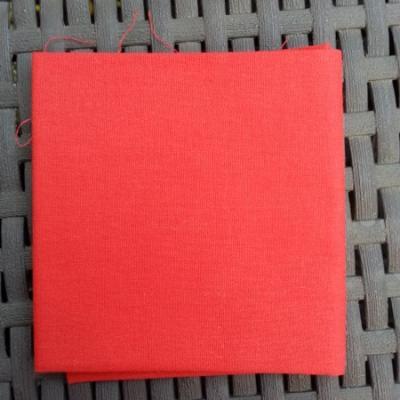 Coupon de coton rouge 38*38 cm