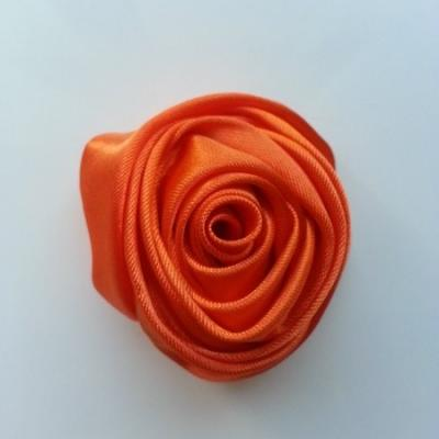 fleur satin 50mm orange