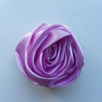 fleur satin 50mm mauve