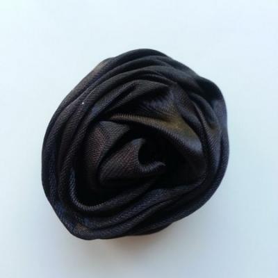 fleur satin 50mm noir