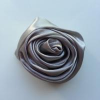 fleur satin 50mm gris