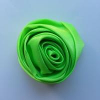fleur satin 50mm vert