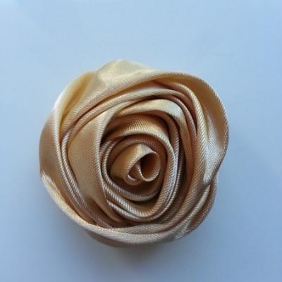 fleur satin 50mm beige