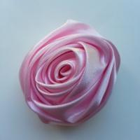 fleur satin 50mm rose